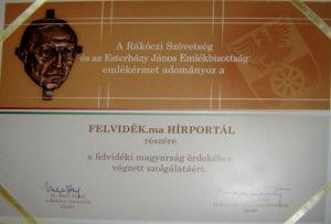 Esterházy Emlékérem