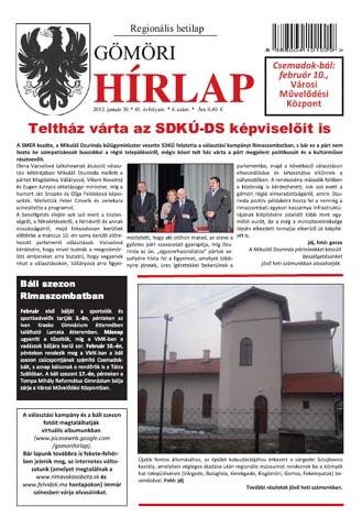 Gömöri Hírlap 2012/4