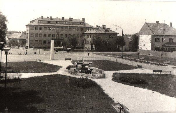 Zselíz belvárosa 1967