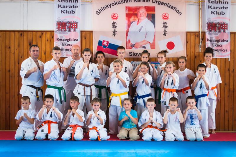 A keszegfalvai edzőtábor résztvevői