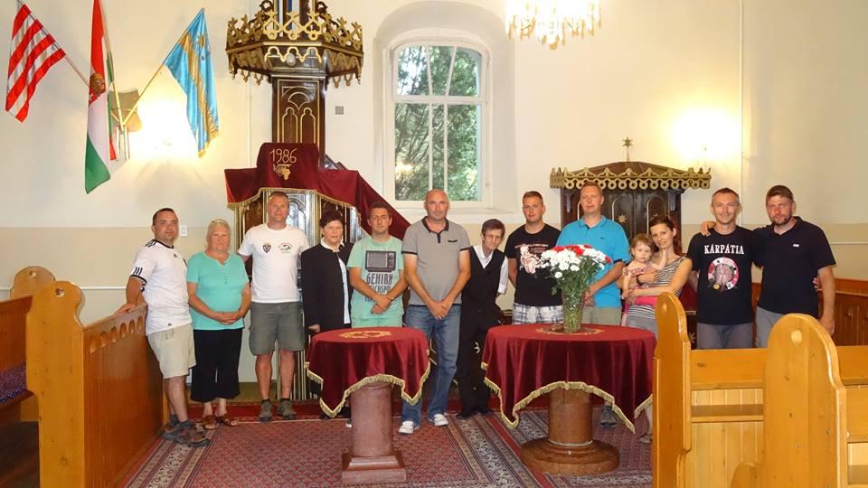 A nemeshodosi református templomban