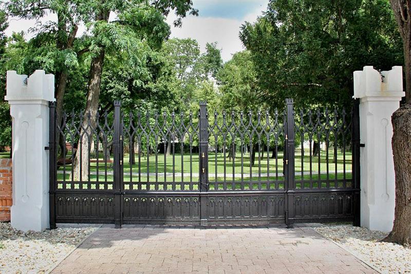 A felújított kapu