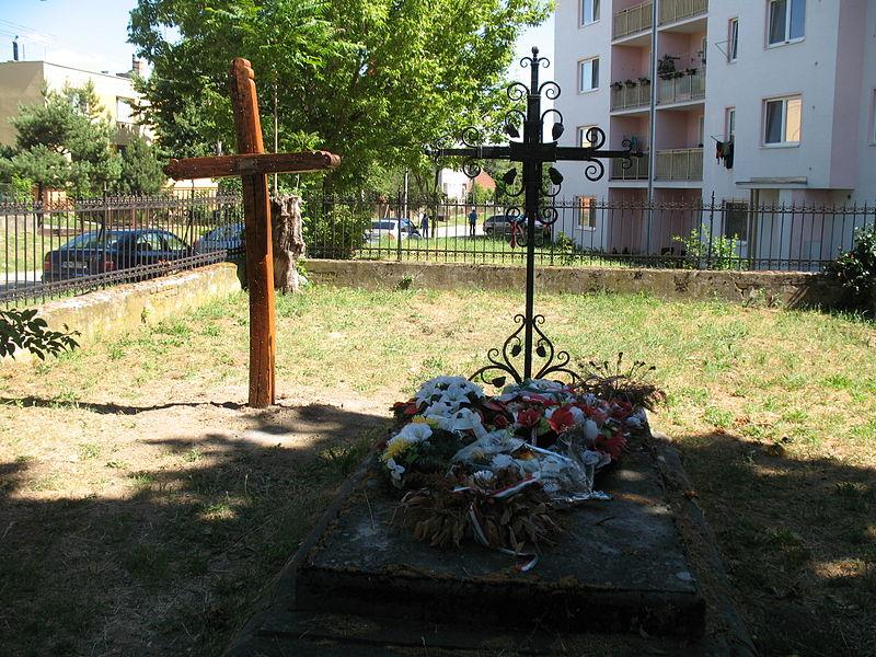 Esterházy János jelképes sírja
