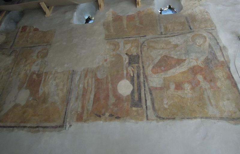 Gímeskosztolány freskók egy része