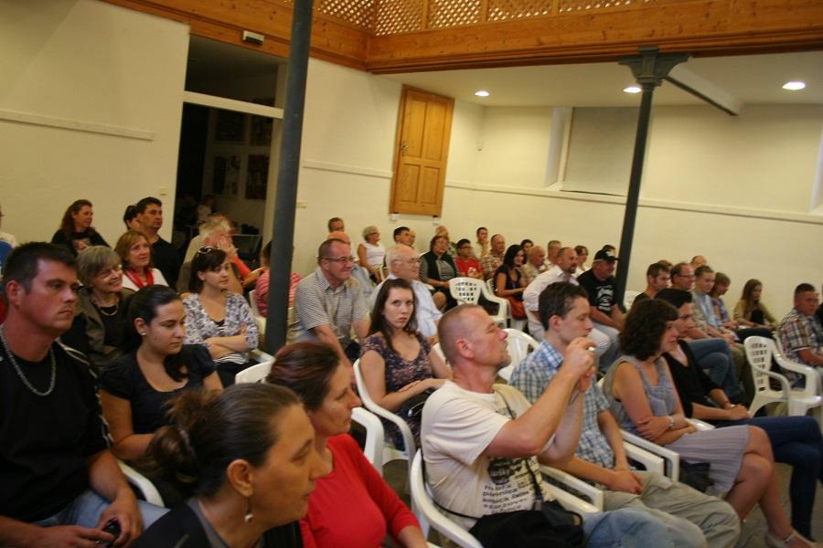 Jazz kedvelő közönség