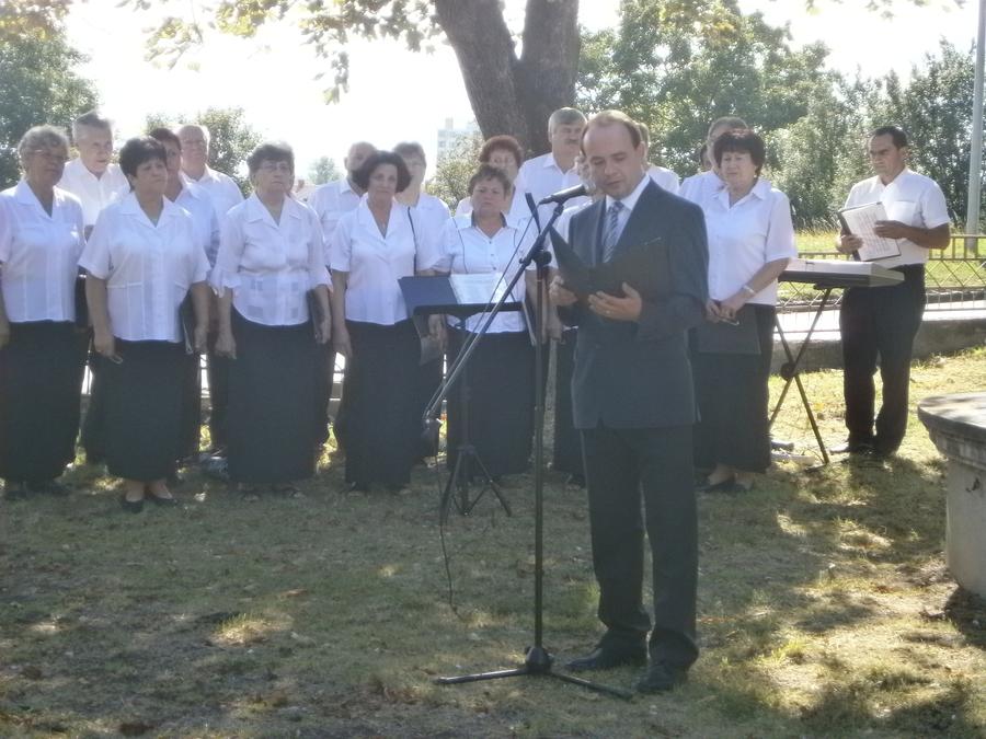 Mihók Gábor a Csemadok helyi elnöke