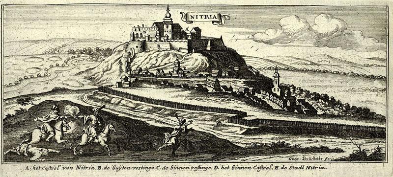 Nyitra vára 1690-ben