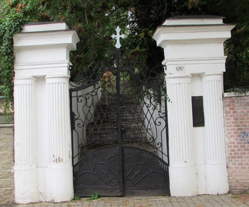 A Kálvária főbejárata
