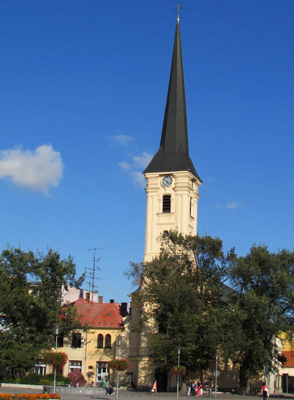 A Plébánia templom