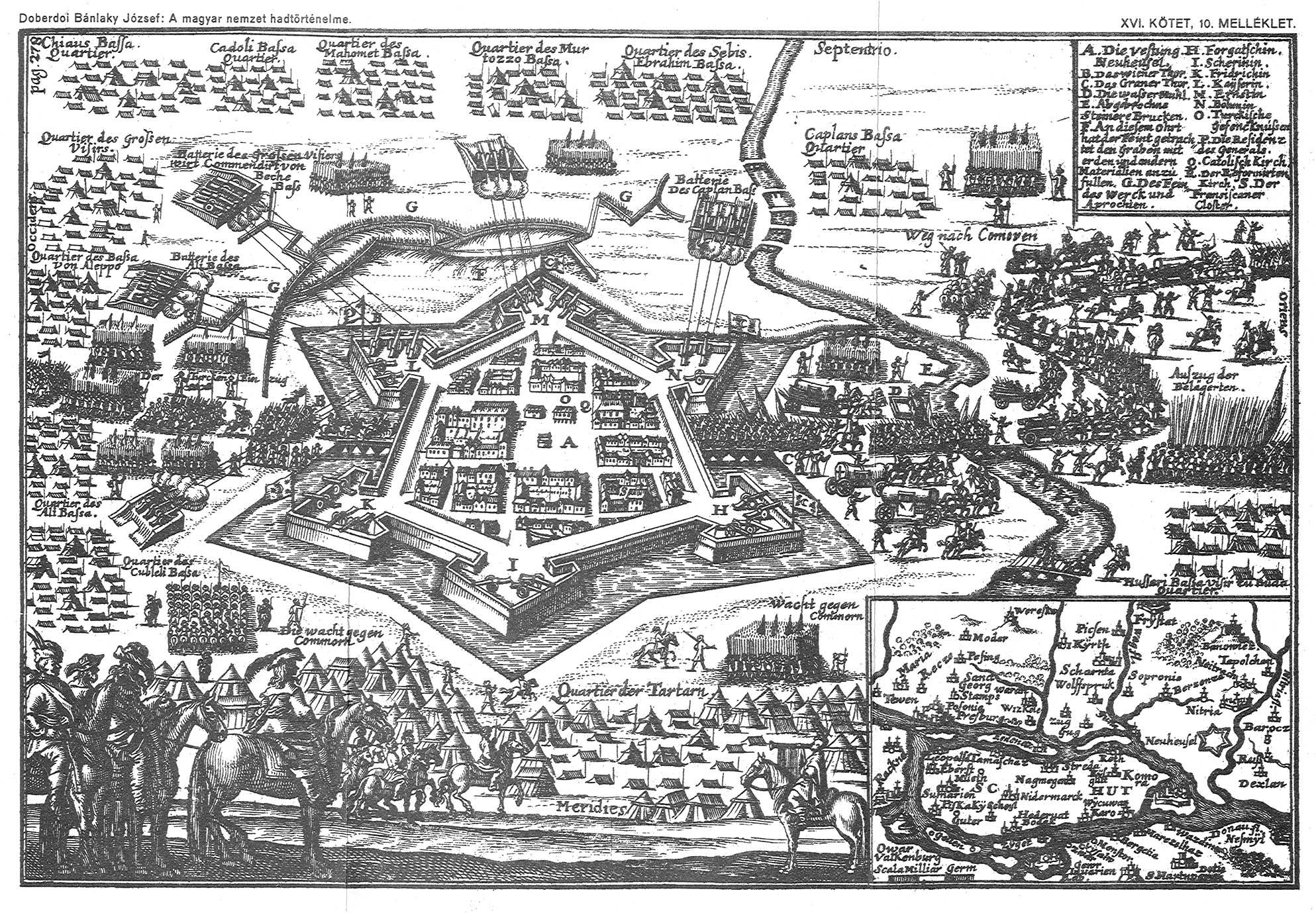 A vár a török időkben