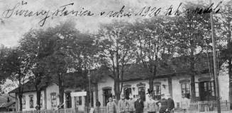01 A nagysurányi vasútállomás 1920-ban