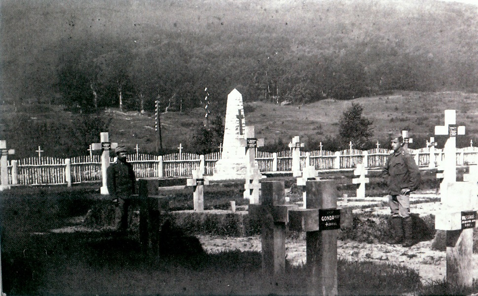 Mezolaborci katonai temeto