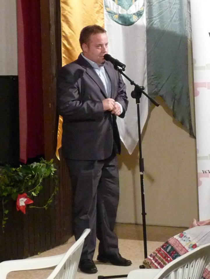 Petheő Attila a Csemadok Komáromi járási elnöke