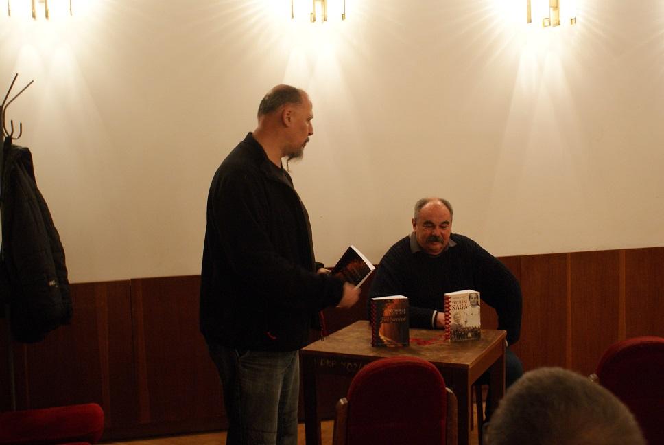 Az író és Győry Attila