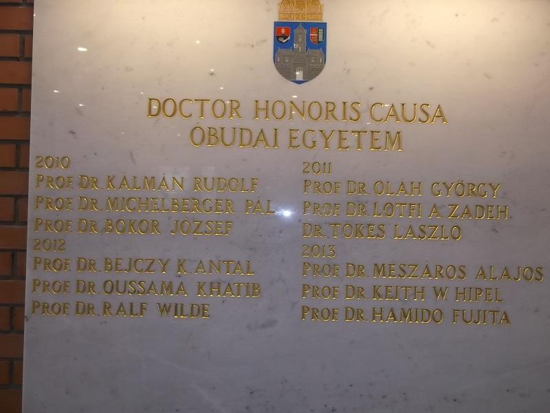 Az eddig kitüntettek névsora - közöttők 3 Nobel-dijas