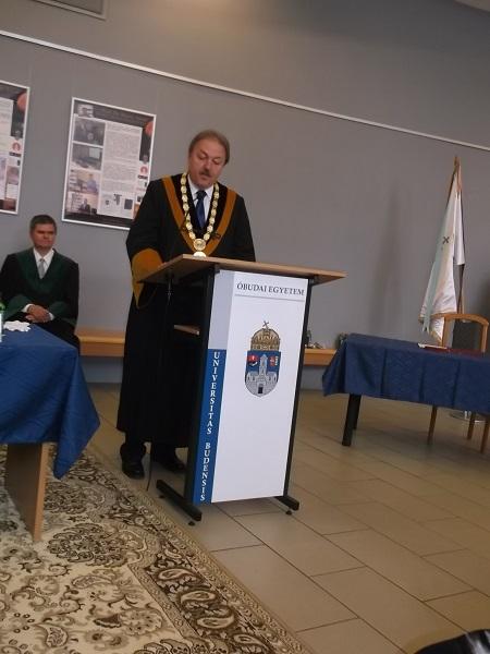 Prof. Dr. Fodor János rektor ünnepi beszéde
