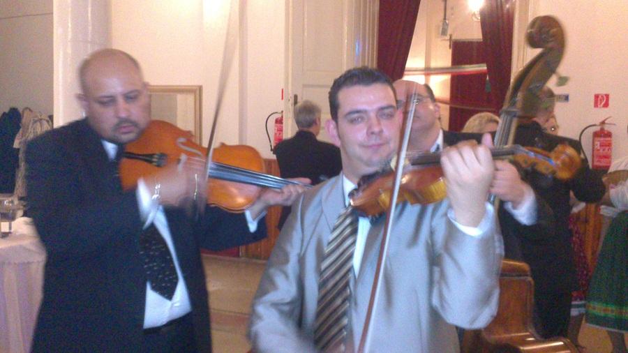 Sír a hegedű