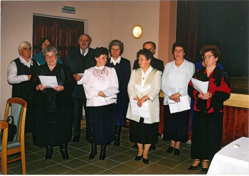 Az egyházkarcsai nyugdíjasok köszöntése