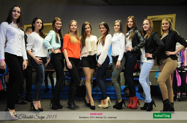 Kelemen Henrietta Miss Universe Hungary 2014