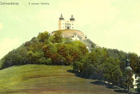 kalvaria.org - A kálvária egy korabeli képeslapon