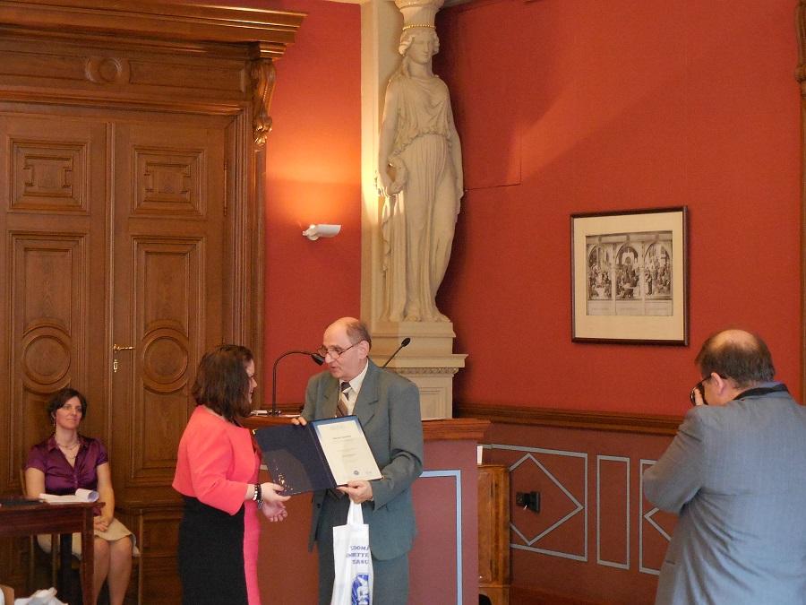 A díjazott - Molnár Kornélia