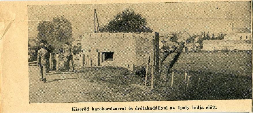 Az ppolysági betonbunker a Magyar Katunaujságban