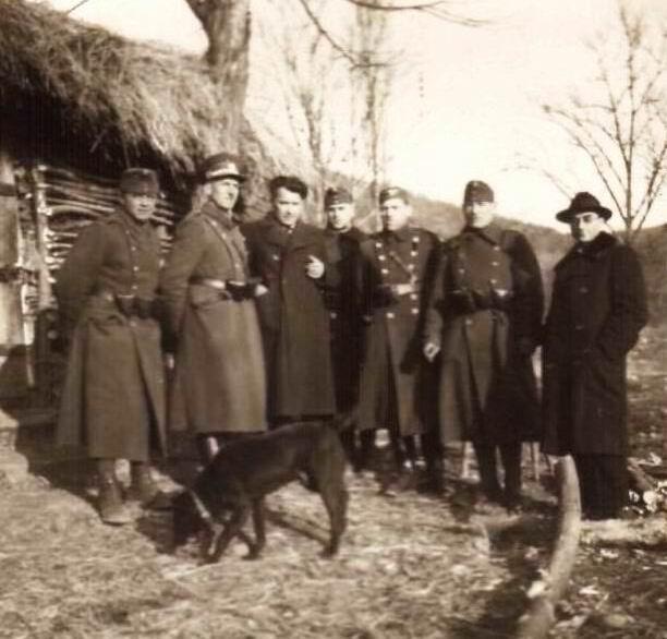 Határőrök Paláston 1939-ben