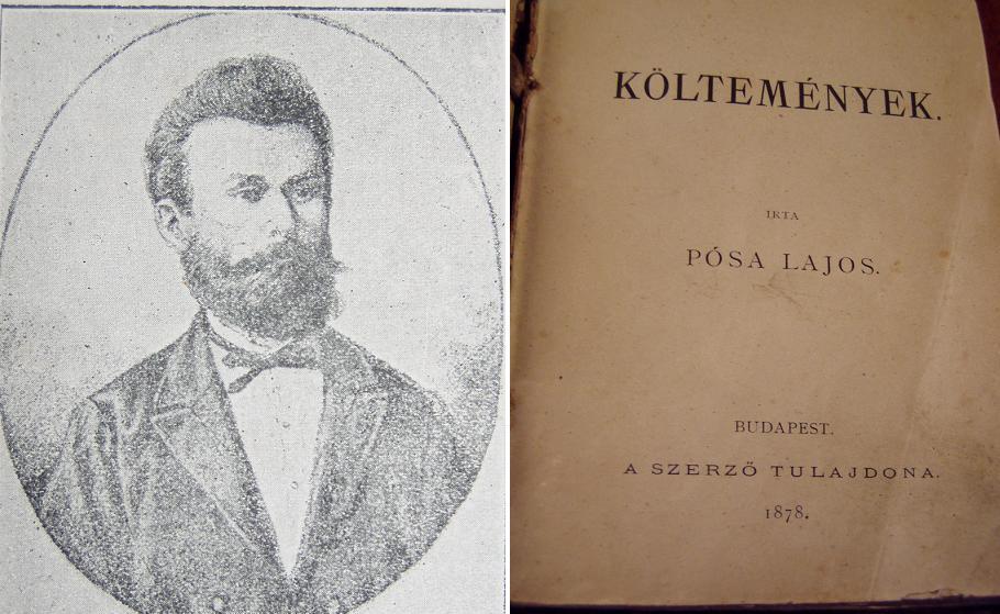 Emléktár 30 oldal a költő 1878-ban