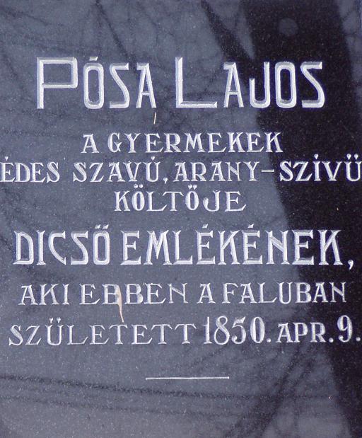 Emléktár 52 oldal  Emlektábla 1931-ből Fotó-HE