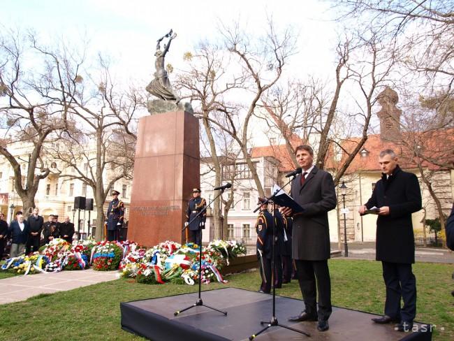 Ivo Nesrovnal a másik ünnepségen