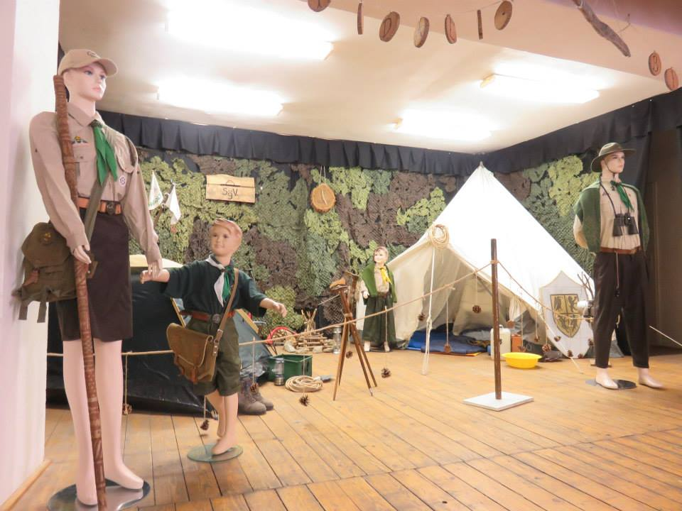 Kialakított tábor