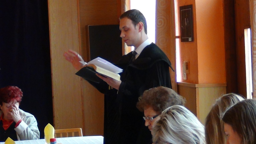 Nt Gebe László lelkész áldása