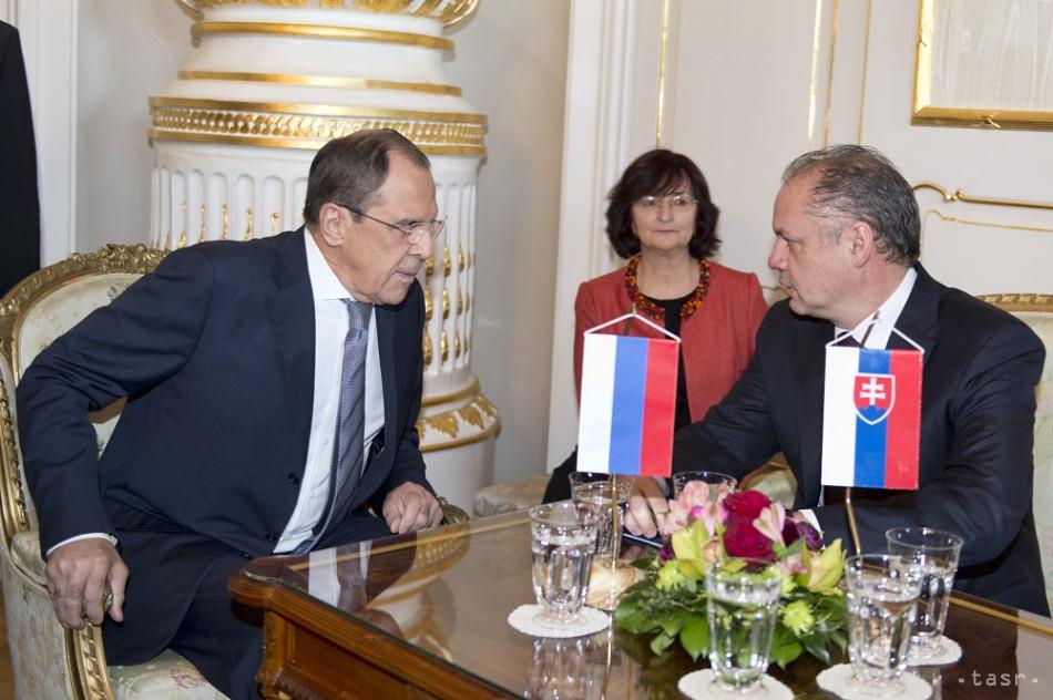 Tárgyalás a szlovák államfővel