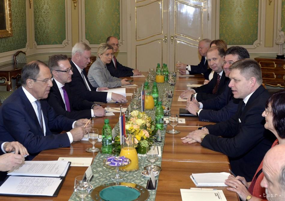 Tárgyalás a szlovák miniszterelnökkel