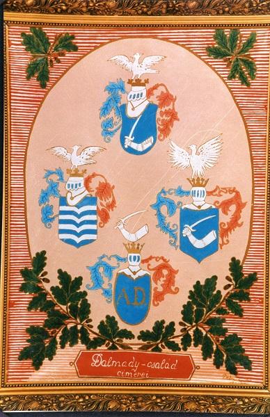 A Dalmady család címera Csáky Károly reprodukciója