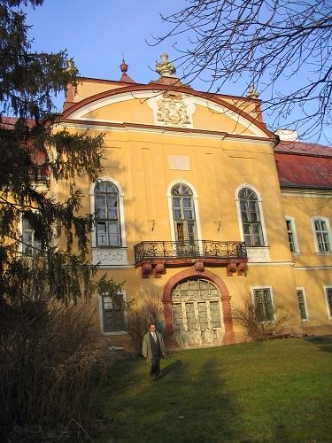 A zsélyi Zichy-kastély 2007-ben