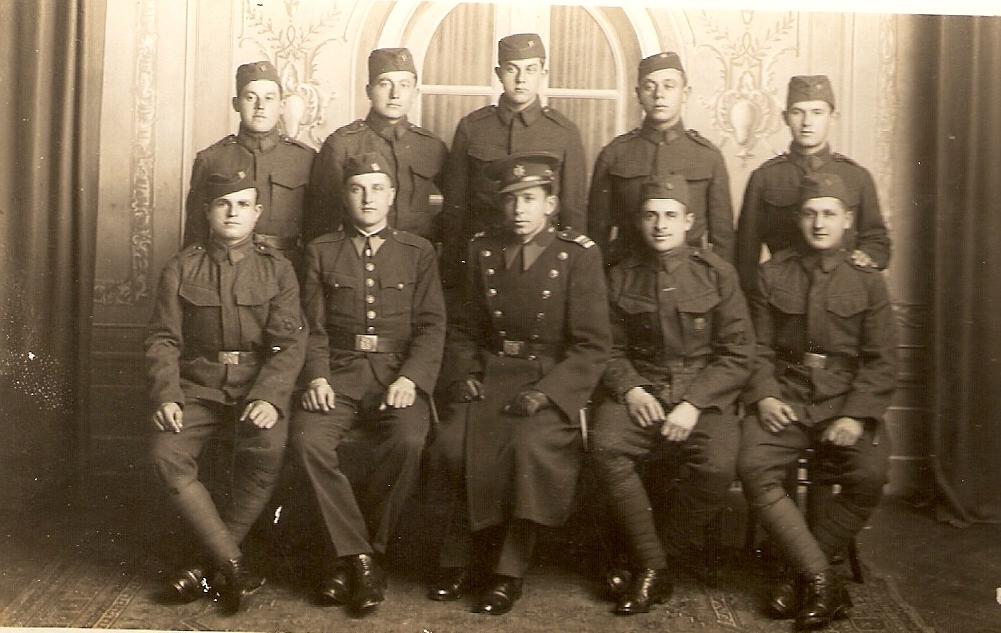 Český Těšín-i katonák 1937