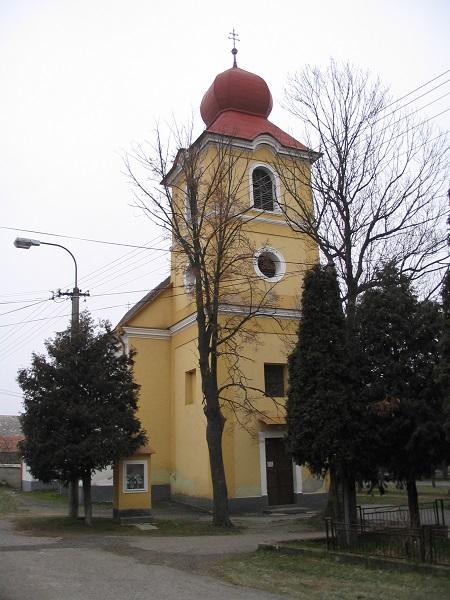 Egegi  Szent Péter és Pál templom Csáky Károly felvételén