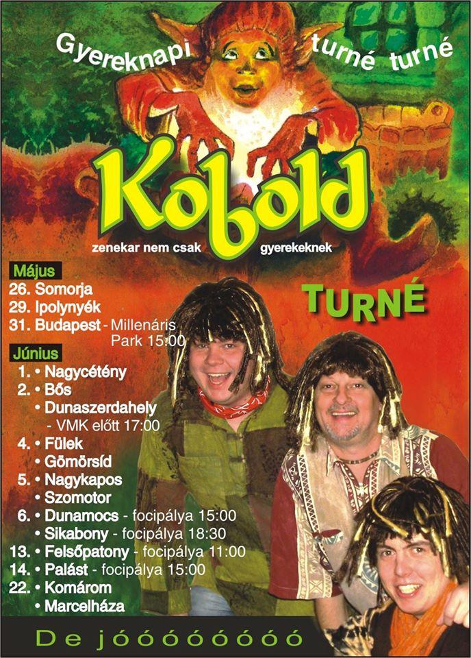 Kobold turné plakátja