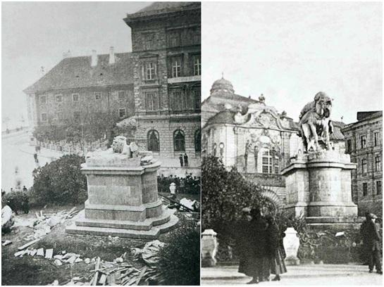 Mária Terézia-emlékmű Pozsonyban