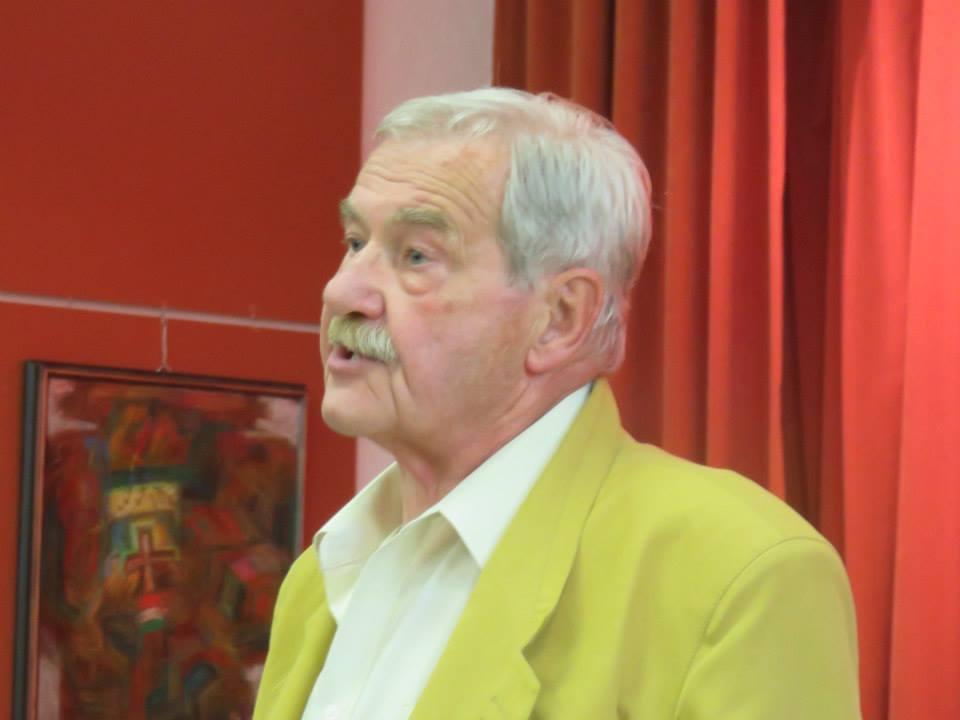 Martényi Árpád az Esterházy János Emlékbizottság elnöke