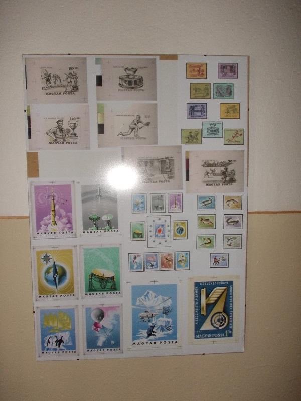 A Cziglényi Ádám tervezte bélyegek Csáky Károly felvételén