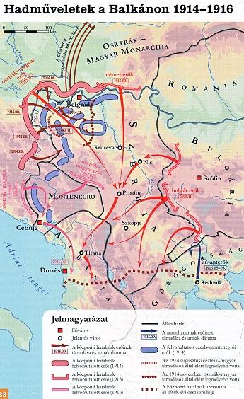 A balkáni hadműveletek
