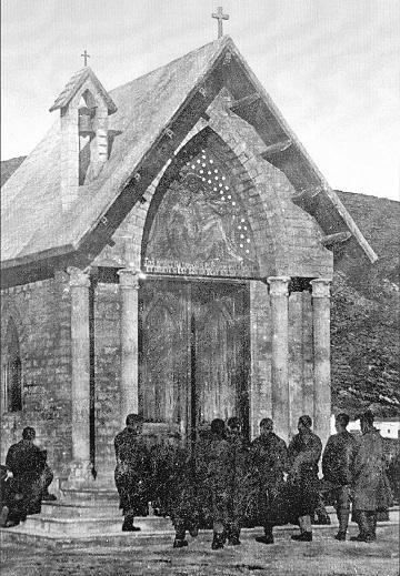A magyar művészek építette kápolna Cala Reale