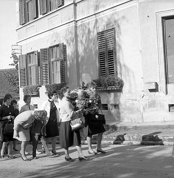 Aratóünnep egy archív felvételen