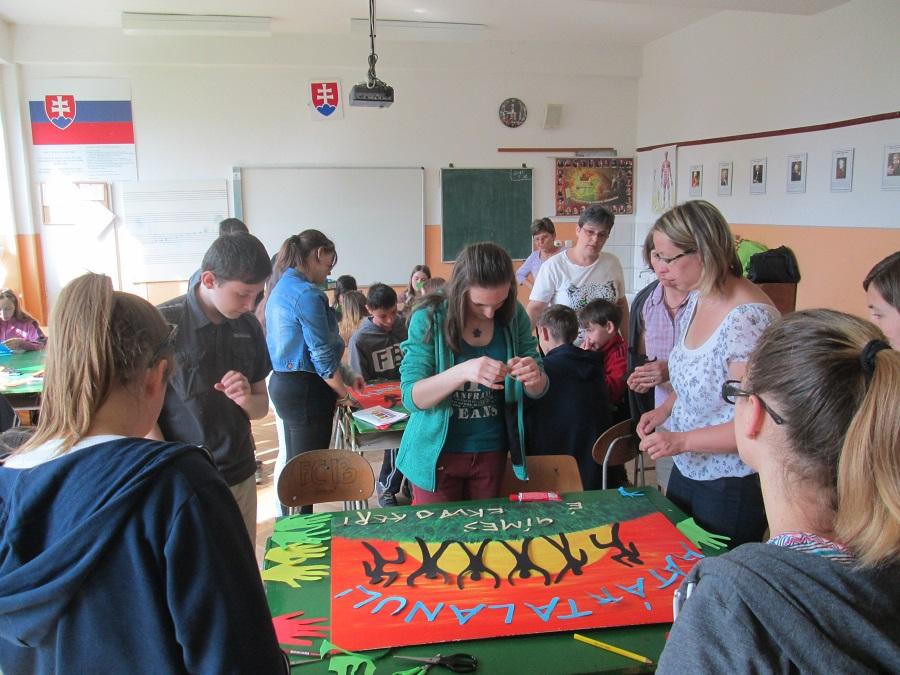 Gímesi iskolában