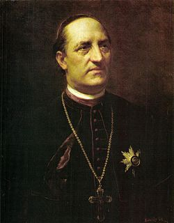 Ipolyi Arnold Benczúr Gyula festményén. Világháló