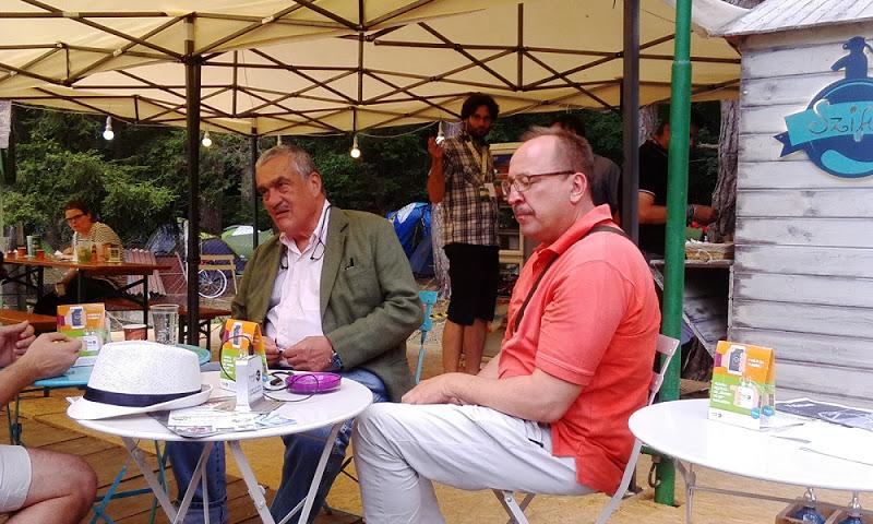 Karel Schwarzenberg és Németh Zsolt