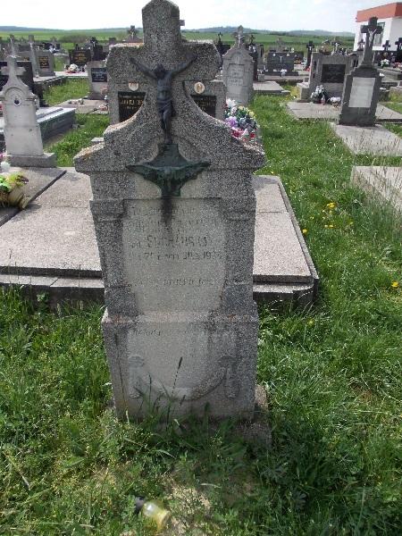 Suchánsky-sírjel 2015-ből Csáky Károly felvételén