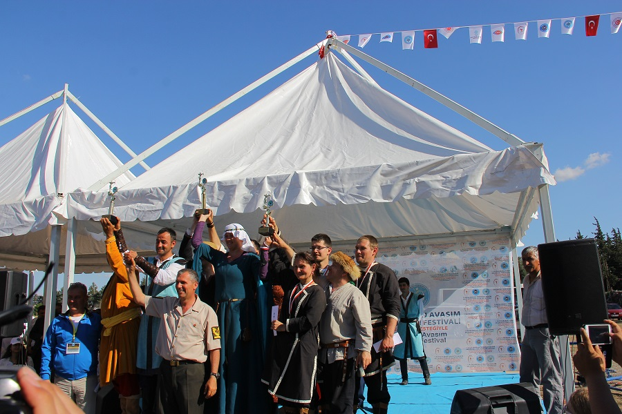 Törökországi dobogósok